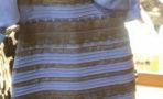 vestido blanco y dorado azul y
