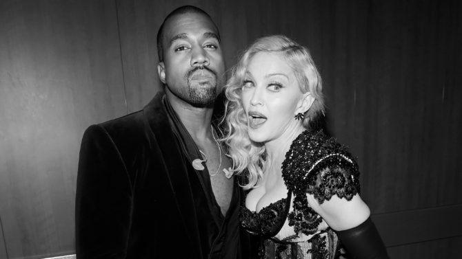 Madonna, Kanye West