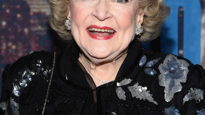 Betty White premio a la trayectoria