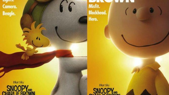 """Nuevos posters de """"The Peanuts Movie"""""""