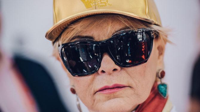 Roseanne Barr está perdiendo vista