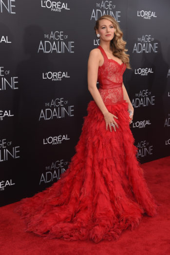 La alfombra roja de 'The Age of Adaline'