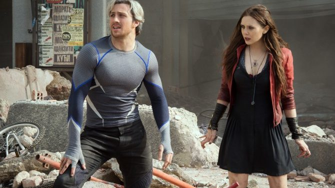 Avengers Nuevo Clip Scarlet Witch Quicksilver