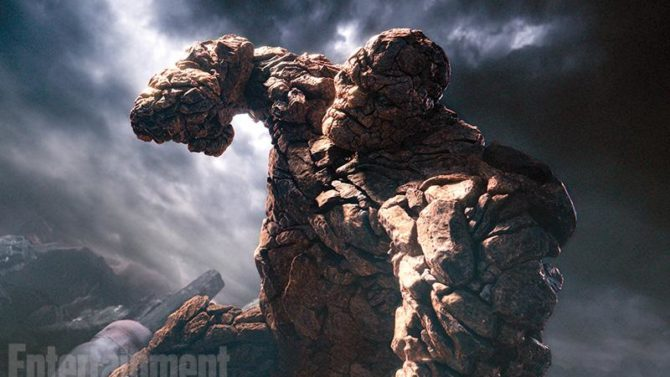 Fantastic Four primera foto The Thing