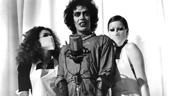 Actress Patricia Quinn,actor Tim Curry, and