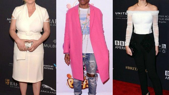 Pharrell, Patricia Arquette, Emma Watson