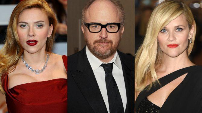 Scarlett Johansson, Louis C.K y Reese