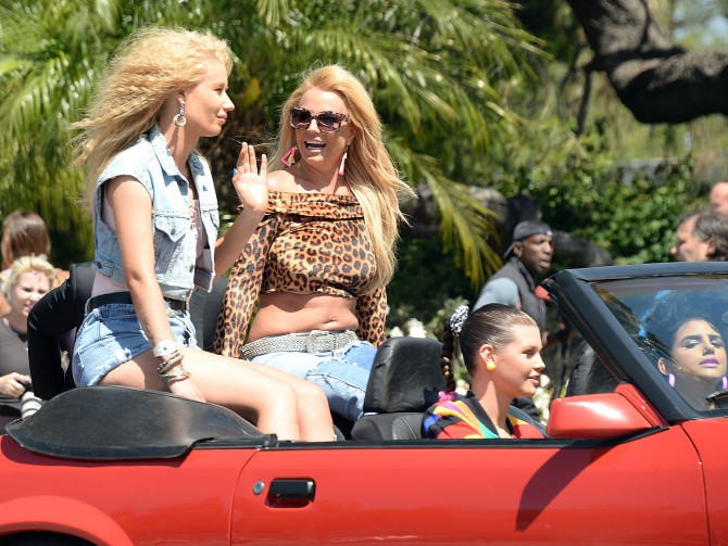 Iggy Azalea y Britney Spears