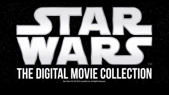 Star Wars formato digital HD