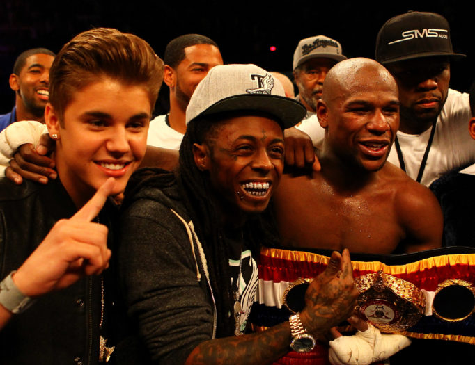 Justin Bieber y Lil Wayne