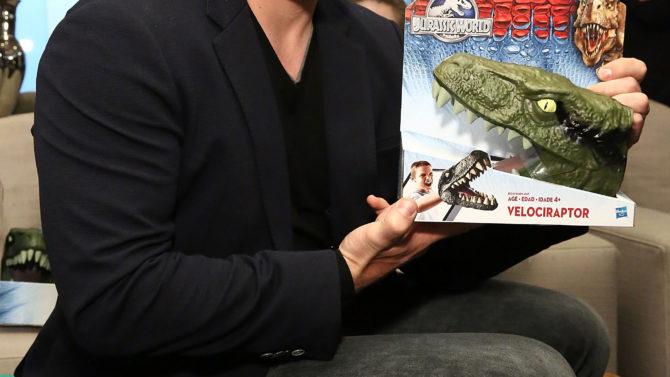 Jurassic World Chris Pratt se disculpa