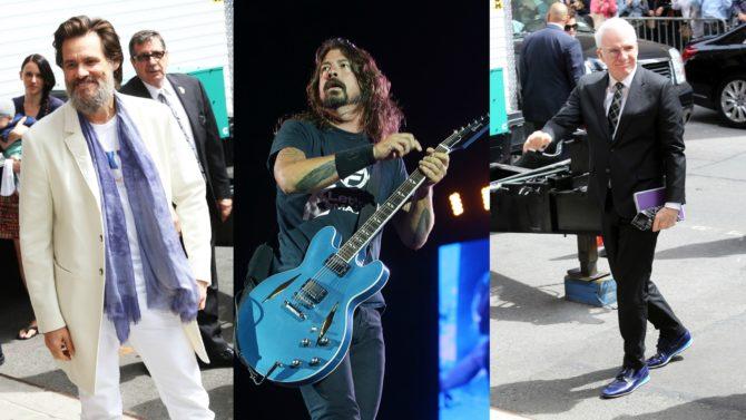 Foo Fighters, Steve Martin y Jim