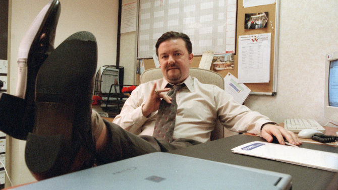 Picture Shows: Ricky Gervais as David