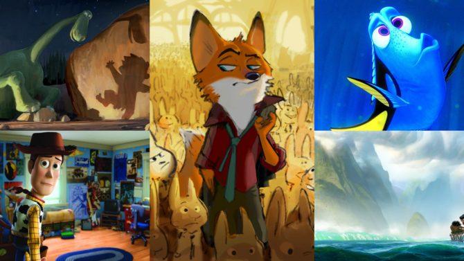 Disney/ Pixar anuncia nuevos títulos y