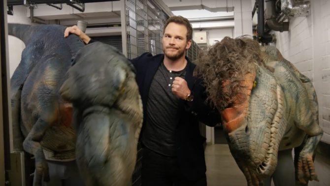 Chris Pratt dinosaurios broma Jurassic World