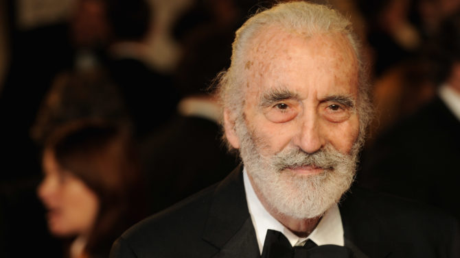 Christopher Lee fallece muere Lord of