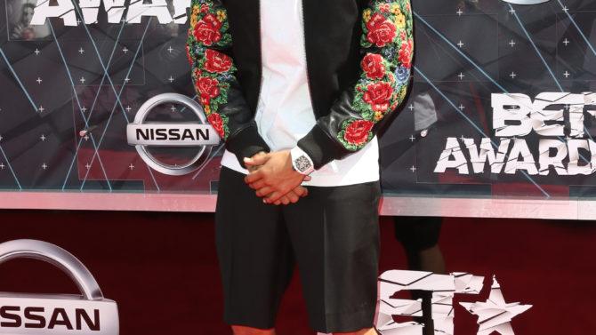 Chris Brown BET Awards 2015
