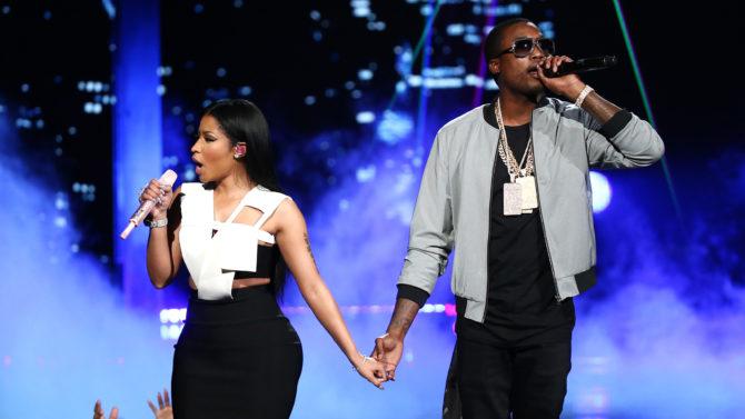 Nicki Minaj Meek Mills BET AWARDS