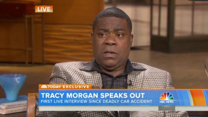 Tracy Morgan entrevista accidente automovilístico