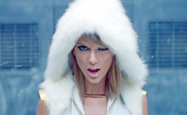 "Taylor Swift: ""Bad Blood' video detrás"