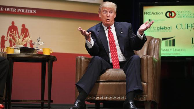 Donald Trump no volveré a México