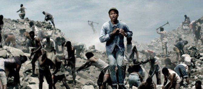 'Freedom': Pharrell Williams video musical