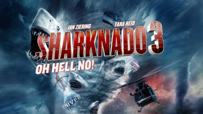 'Sharknado 3': Twitter enloquece con tercera