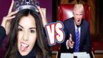 Donald Trump tildó de hipócrita Paulina