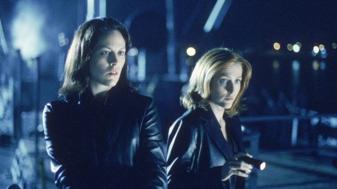 Annabeth Gish The X-Files