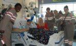 Ghostbusters protagonistas visitan hospital Melissa McCarthy