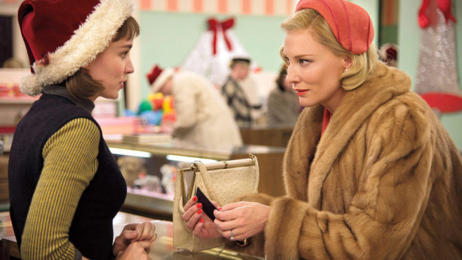 Cate Blanchett Rooney Mara Carol trailer