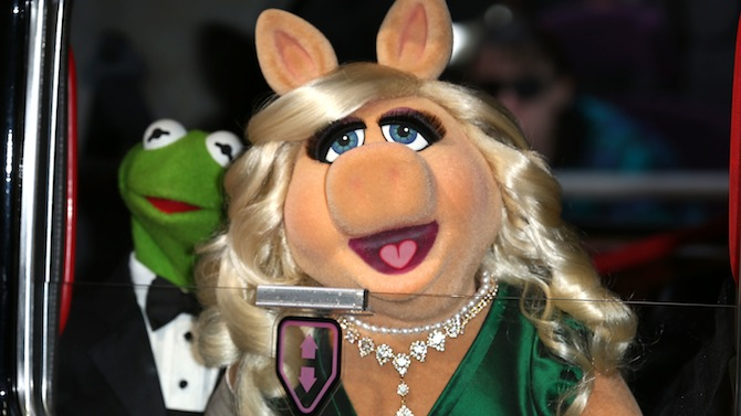 Kermit y Miss Piggy