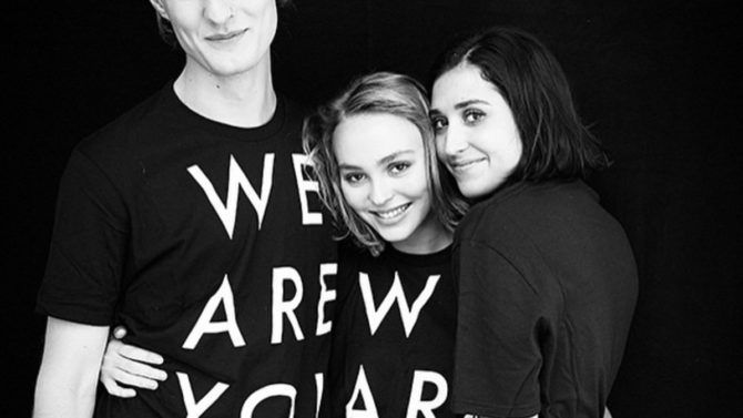 Hija de Jhonny Depp Lily-Rose Depp