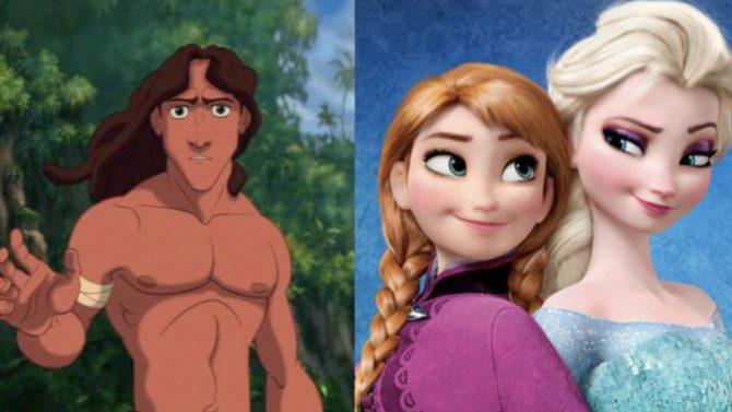 Frozen/Tarzan