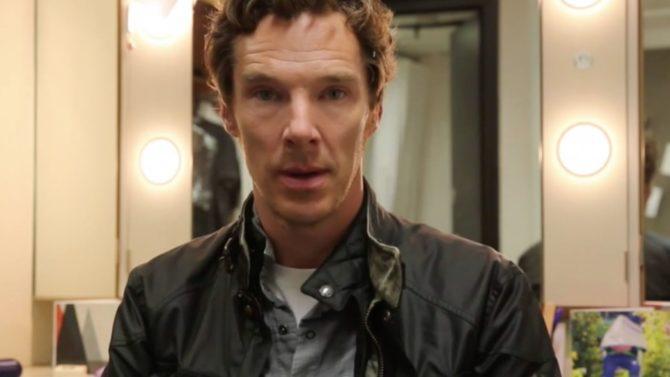 Benedict Cumberbatch comparte video por la