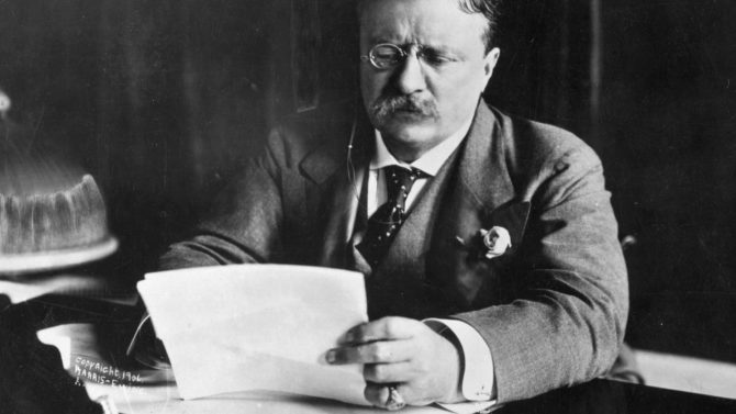 Theodore Roosevelt Showtime nueva serie