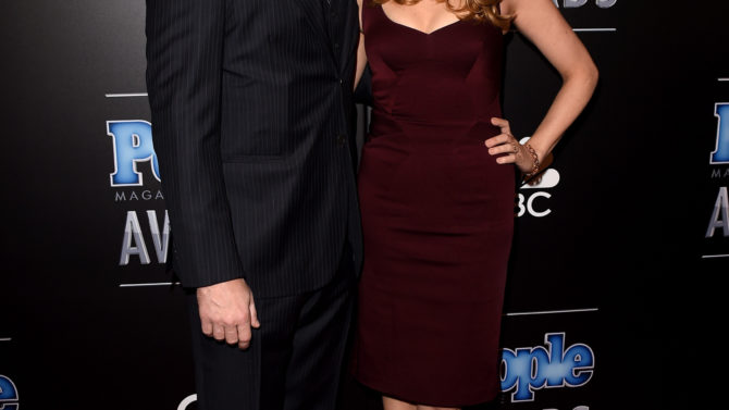 Jon Hamm y Jennifer Westfeldt separados