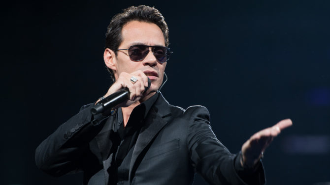 Marc Anthony arremete contra Donald Trump