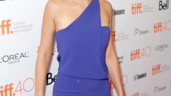 TORONTO, ON - SEPTEMBER 15: Actress