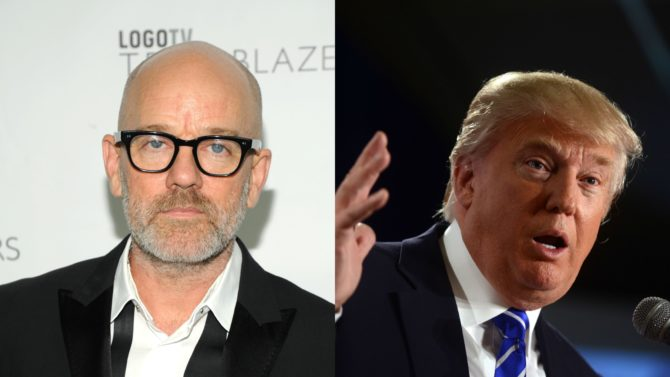 Integrantes de R.E.M. están enojados con