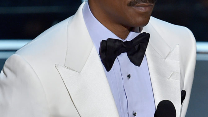 onstage during the 87th Annual Academy