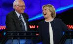 debate demócrata Hillary Clinton Bernie Sanders