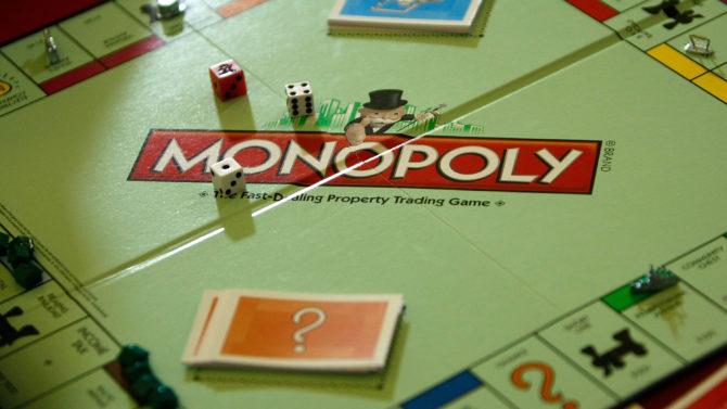 WASHINGTON - APRIL 15: A Monopoly