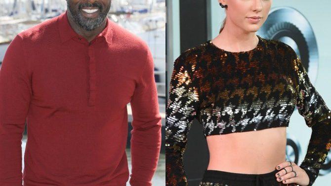 Idris Elba Taylor Swift Anfitriones MEt