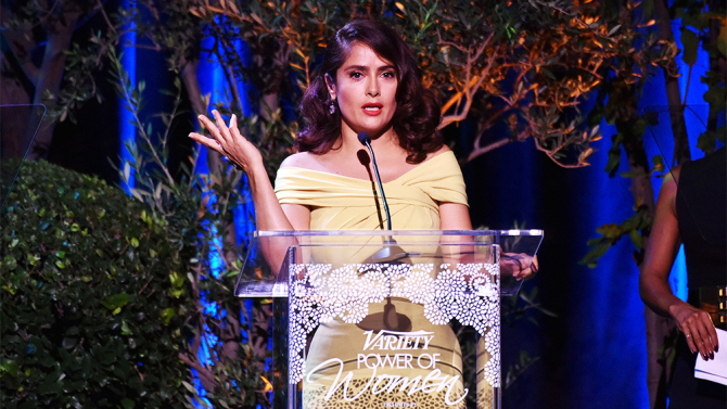 Salma Hayek Pinault Variety's Power of