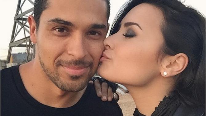 Demi Lovato y Wilmer Valderrama son