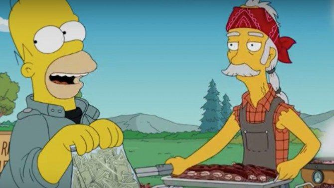 Edward James Olmos The Simpson