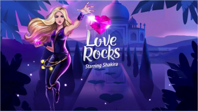 Shakira Lanza Juego movil Love Rocks