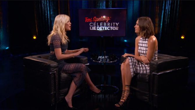 Tori Spelling revela romances Beverly Hills