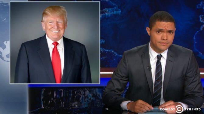 Trevor Noah compara a Donald Trump